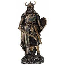 viking warrior with sword 18 inch statue the vikings collectible