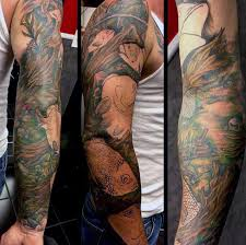 75 fishing tattoos for reel in manly design ideas