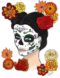 day of the dead tshirt design by destroyerzombie on deviantart