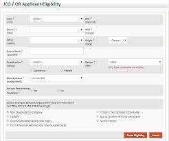 join indian army online registration application form for open