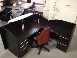Arnold Reception Desks by Cherryman Verde 6 U0027 X 6 U0027 Reception L Desk