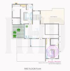 Kerala Home Design First Floor Plan by All In One House Elevation Floor Plan And Interiors Kerala