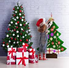 3ft felt glitter tree new edition 2017 mushy moments tm