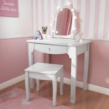 childrens dressing table mirror with lights victoria girls white dressing table with stool mirror furniture123