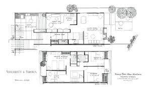 modernist house plans modern architecture floor plans ghanko