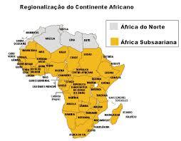 mapa de africa a geografia da áfrica localização geográfica