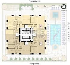 Marina Square Floor Plan Emirates Crown