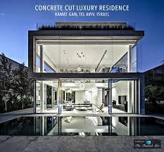 concrete cut luxury residence u2013 ramat gan tel aviv israel