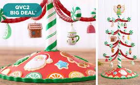 qvc q2 hallmark keepsake 14 sweet treats tree w 12