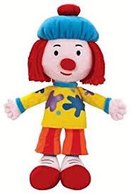 amazon jojo u0027s circus magic posing pal jojo clown plush