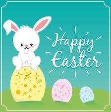 happy easter cute bunny rabbit u2013 free graphic resources vectors