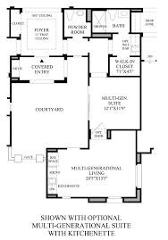 Multigenerational Homes Plans Los Altos The Taranto Nv Home Design