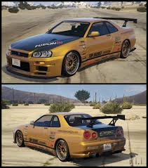 1967 nissan skyline liveries pack for nissan skyline gt r bnr34 gta5 mods com