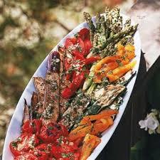 grilled vegetable platter with picnic vinaigrette williams sonoma