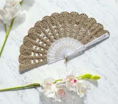 held fans for wedding lace fan gold held fan bouquet alternative