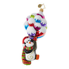 christopher radko ornaments radko animal up up and away penny