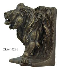 bookends lion vintage hardware lighting lion bookends by bradley hubbard