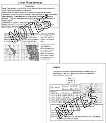 Graphing Linear Functions Worksheet Pdf The Math Magazine Linear Programming Graphing Inequalities