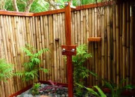 Outdoor Shower Enclosure Camping - extraordinary outside shower ideas let nature in with an outdoor