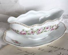 princess china sweet briar gravy boat and oval bowl smith by thecordialmagpie