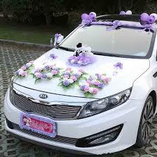 Diy Car Decor Aliexpress Com Buy Artificial Flowers For Car Creative Korean