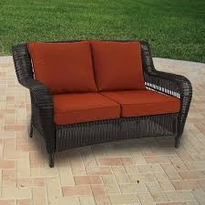 Patio Furniture Glider by Loveseat Outdoor Patio Loveseat Furniture Garden Yard Lounge
