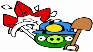 angry birds coloring pages minion pig find rubins youtube