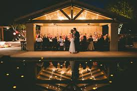 wedding venues in az colorful backyard vintage wedding in az junebug weddings