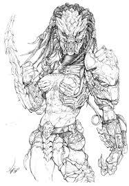 female predator 2 by tdm studios on deviantart beasties