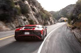 lamborghini aventador on the road 2015 lamborghini aventador sv test review