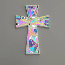 wall decor crosses best stained glass wall cross products on wanelo