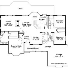 craftsman style home floor plans open floor plans plan craftsman style home ranch house open floor