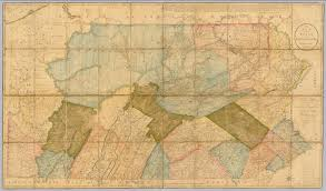 Maps Of Pennsylvania by Map Of The State Of Pennsylvania Howell Reading 1792