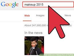 image led bee a makeup guru on you step 7