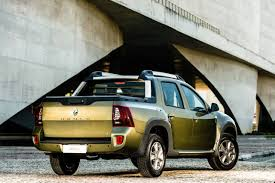 renault duster oroch renault duster oroch duster pick up rear three quarter launched