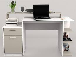 bureau avec rangement au dessus bureau blanc avec rangement mitharg com