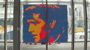 elvis presley pixel art with post it notes youtube