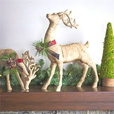 indoor reindeer decorations gorgeous reference
