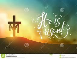 christian easter scene saviour s cross on dramatic sunrise scene