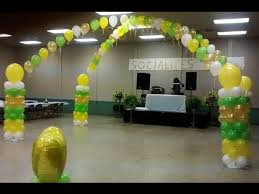 how to make a balloon arch dance floor a big party arch for