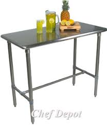 John Boos Kitchen Tables Maple Stainless Steel Table John Boos - Kitchen prep table stainless steel