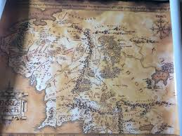 a map of middle earth the map of middle earth lotr