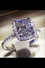 custom made engagement ring 2 carat center cushion cut diamond in
