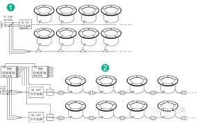 led underground light installation steps and wiring diagrams led