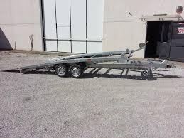 rimorchio porta auto usato rimorchio trasporto auto cresci pa 30 a castagneto carducci