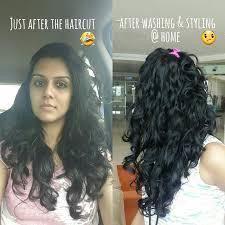 stringy hair cuts an update got my hair cut curlsandbeautydiary