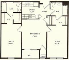 2 bedroom house floor plans wingler house