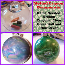 crafty glass ornaments ideas from