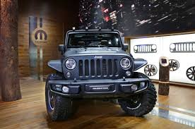 jeep wrangler pickup black 2015 jeep wrangler unlimited rubicon u201cstealth u201d show car storms france