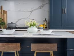 blue kitchen island cabinets blue kitchen island and cabinetry in a modern farmhouse